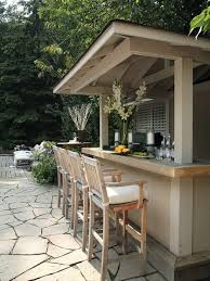 plan your outdoor bar decohoms