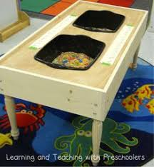 how to build a sensory table tot tuesday diy sensory table plastic storage containers