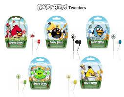 gear4 angry birds tweeters ear stereo headphones amazon uk