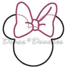 minnie dress silhouette clipart diy u0026 crafts