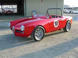 alfa romeo giulietta classic 1962 alfa romeo giulietta spider for sale classiccars com cc