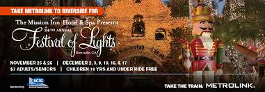 festival of lights orange county ride metrolink to the festival of lights for only 7 octa