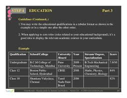 curriculum vitae format for freshers pdf converter resume writing for students and freshers