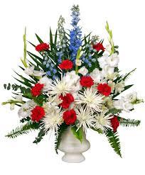 fort worth florist patriotic memorial funeral flowers in fort worth tx fort worth