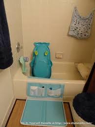 Bathtub Drain Lever Cover Baby by Diy Baby Bathroom Organization Diy Danielle