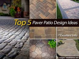 Patio Pavers Design Ideas Awesome Patio Design Ideas With Pavers Pictures Interior Design