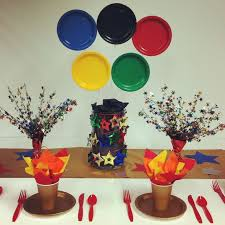 Olympic Themed Decorations 34 Best Olympics Party Images On Pinterest Olympic Games