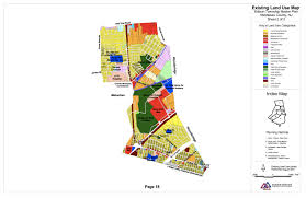 Map Of Middlesex County Nj Edison Township Master Plan Residential Land Use Change Relative