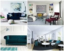 décoration canapé canapé velours le meuble parfait pour l intérieur moderne