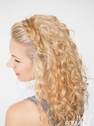 hairstyles at 30 30 curly hairstyles in 30 days day 27 hair romance