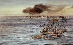 sinking of the lusitania the long reach of war the sinking of the rms lusitania