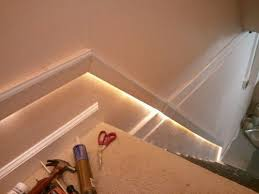 indoor stair lighting ideas stair lighting good idea for basement stairs i d like to do this