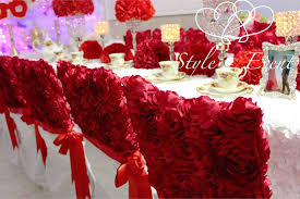 rosette chair covers heart 2 heart event planning 2016