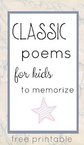 Old Halloween Poems Classic Poems For Kids To Memorize
