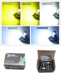 Led Head Light Bulbs by Cree All In One Fanless Car Led Headlight Bulbs 3s H4 H13 9004