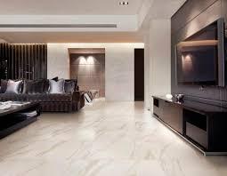 interior modern white calacatta marble floor for living room