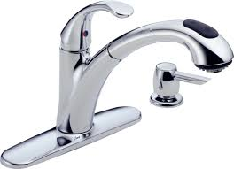 delta brushed nickel kitchen faucet kitchen pull down faucet delta inspirations also brushed nickel