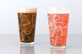 University Of Tennessee Map by Knoxville Tn University Of Tennessee College Town Map Pint