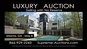 Luxury Homes In Marietta Ga by Atlanta Ga Contemporary Luxury Home For Sale Absolute Auction