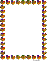 thanksgiving borders thanksgiving border paper creative