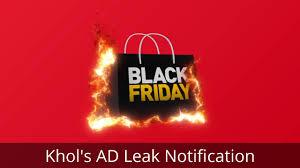 kohls fitbit black friday kohl u0027s black friday ad leaks black friday 2016 blackfriday2016