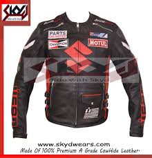 all black motorcycle jacket suzuki icon gsxr racing motorcycle leather black jacket all sizes