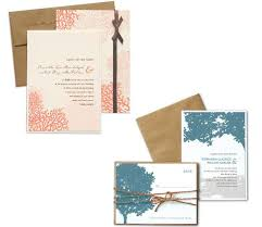 wedding stationery sets wedding invitation sets bright coral and blue set on white