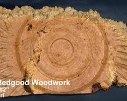 wood turned wall turned on lathe etsy