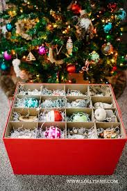 christmas ornament storage ornament storage solution lolly