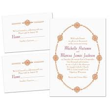 ornamental trim separate and send invitation s bridal bargains