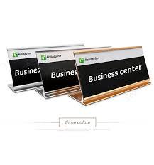 plaque bureau en aluminium sign holder bureau nom de l étiquette plaques