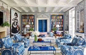 Blue Home Decor Ideas 33 Wallpaper Ideas For Every Room Photos Architectural Digest