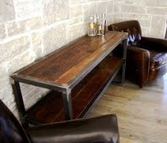 wood and metal sofa table metal sofa tables foter