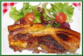 cuisiner poitrine de porc poitrine de porc caramelisee quand choupette et papoune cuisinent
