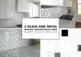 metal tiles for kitchen backsplash grey and white kitchen backsplash white glass metal tile pearl