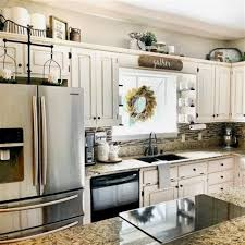 farmhouse kitchen cabinet decorating ideas 9 new ideas for decorating above your kitchen cabinets in