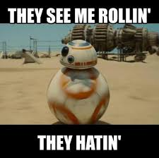 They See Me Rollin Meme - they see me rollin hbd chick