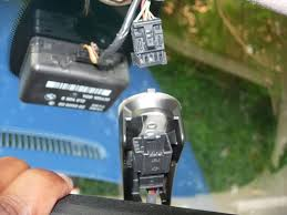 bmw e90 homelink temp compass anti dazzle mirror retrofit to e46