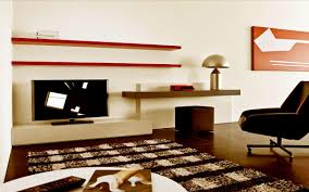 simple study table in living room beautiful home design classy