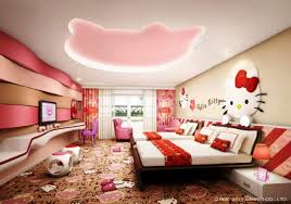 Hello Kitty Wall Mirror Lovely Hello Kitty Room Designs For Your Little Princess