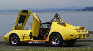 1976 corvette yellow vertical doors corvette forum digitalcorvettes com corvette forums