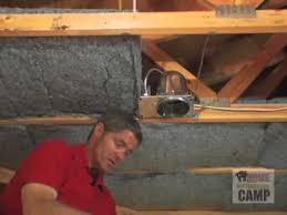 Insulation In Ceiling by How To Install Insulation In Walls U0026 Ceilings Youtube