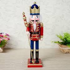 38cm wooden nutcracker soldiers nutcracker ornaments