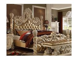 victorian european button tufted cal king bed