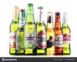 alcoholic drinks brands bottles of assorted global beer brands u2013 stock editorial photo