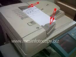 Mesin Fotokopi Rusak cara setting adf mesin fotocopy mesin fotocopy
