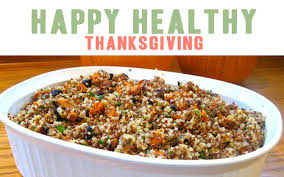 happy healthy thanksgiving a delicious quinoa recipe