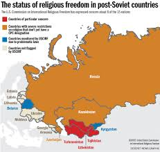 Ussr Map The Fate Of Religious Freedom In The Former Ussr 25 Years After