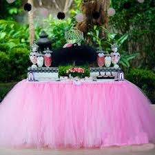 aliexpress com buy 36x31 5 inch polyester tulle tutu table skirt