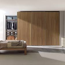 Wardrobes With Sliding Doors Contemporary Wardrobe Elm With Sliding Door Combi System